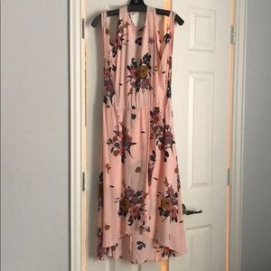 Floral Dropped Sleeve Dress - Worn Only Once!